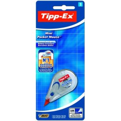 Ruban correcteur Mini Pocket Mouse BIC Tipp-Ex 5M