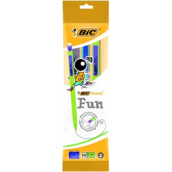 5x Portes-mines BIC Matic Fun 0.7 mm