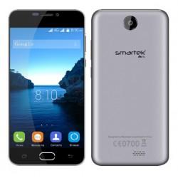 Téléphone Portable Smartek M5 / Double SIM / Gris + SIM Offerte