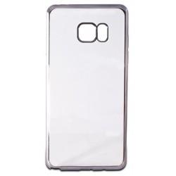 Etui en Silicone KSix Metal Flex pour Samsung Galaxy Note 7 / Gris