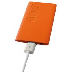 Power Bank Ksix Ultra light / 2500 mAh / Orange