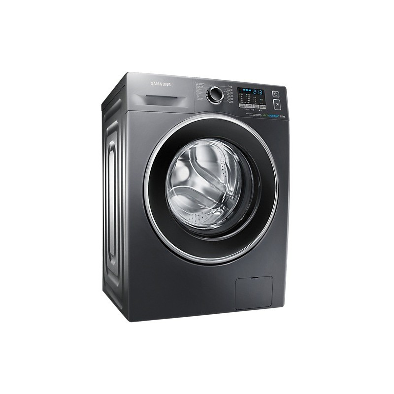 machine laver samsung eco bubble 8kg inox. Black Bedroom Furniture Sets. Home Design Ideas