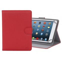 """Etui en cuir pour tablette 8"""" Rouge"""