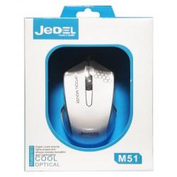 Souris optique Gamer JeDEL M51 / Blanc