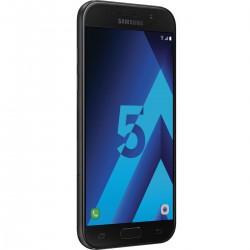 Téléphone Portable Samsung Galaxy A5 2017 / Double SIM / 4G / Noir + Gratuité 60 Dt + SIM Offerte