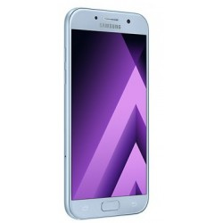 Téléphone Portable Samsung Galaxy A5 2017 / Double SIM / 4G / Bleu + Gratuité 60 Dt + SIM Offerte