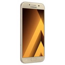 Téléphone Portable Samsung Galaxy A5 2017 / Double SIM / 4G / Gold + Gratuité 60 Dt + SIM Offerte