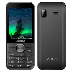 Téléphone Portable Platino Peony / Double SIM / Gris + SIM Offerte