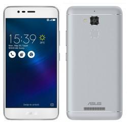 Téléphone Portable Asus ZenFone 3 Max / 4G / Double SIM / Silver + SIM Offerte