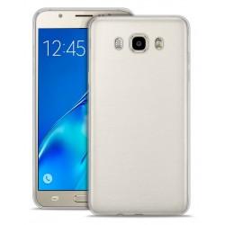 Etui en Silicone Puro pour Samsung Galaxy J7 / Transparent