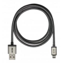 Câble USB vers Micro USB ACME CB02 / Gris