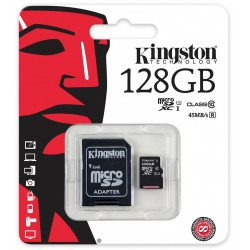 Carte Mémoire Kingston SDXC 128 Go UHS-I U3