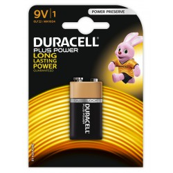Pile Duracell CopperTop Plus Power 9V