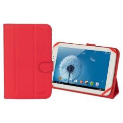 """Etui en cuir Rivacase pour tablette 7"""" / Rouge"""