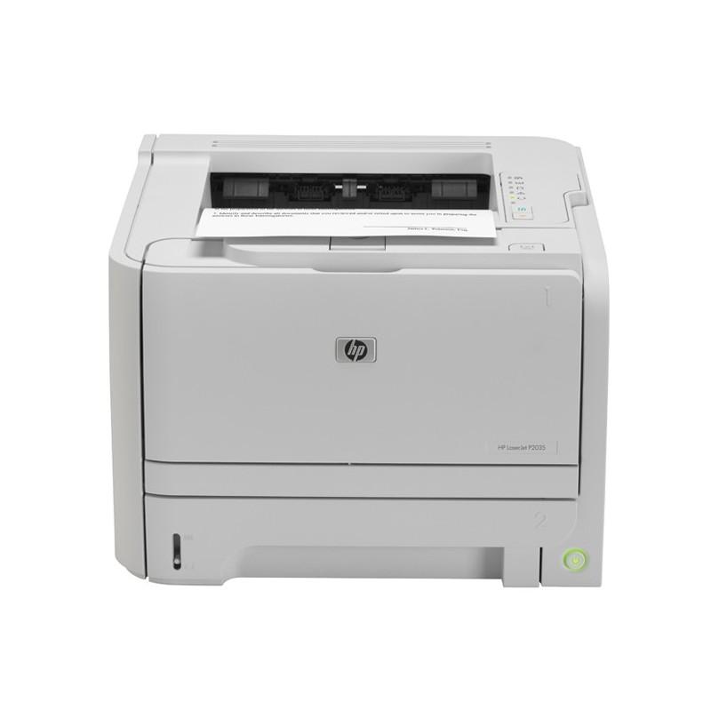 Imprimante Laser Noir/Blanc HP Lasejet P2035