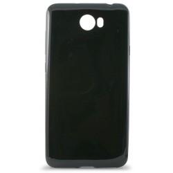 Etui en Silicone KSix Ultrathin Flex pour Huawei Y5II/Y6II Noir