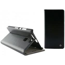 Etui Flip cover KSix Permanent Folio pour Huawei P9 Noir