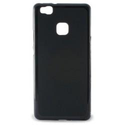 Etui en Silicone KSix Flex pour Huawei P9 Lite Noir