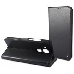 Etui Flip cover KSix Permanent Folio pour Huawei Nova Plus Noir