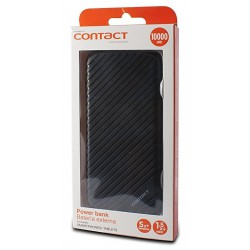 Power Bank Contact 10000 mAh / Noir