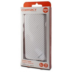 Power Bank Contact 10000 mAh / Blanc