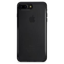 Etui en Silicone Puro Nude pour iPhone 7 Plus / Noir