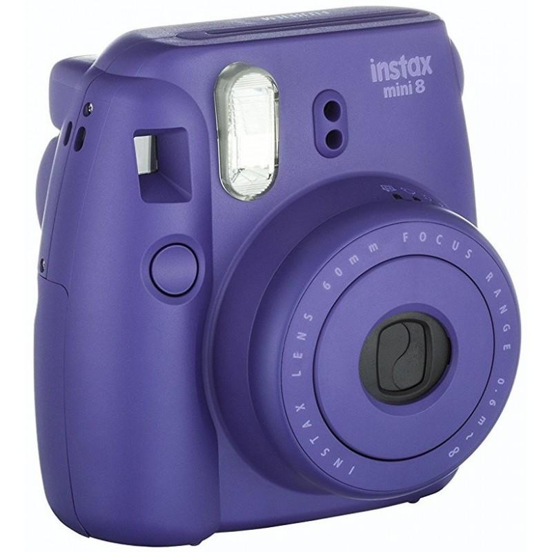 appareil photo impression instantan e fujifilm instax mini 8 violet. Black Bedroom Furniture Sets. Home Design Ideas