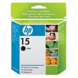 Cartouche d'encre authentique grande contenance HP 15 / Noir