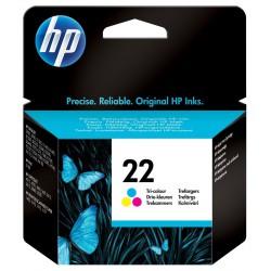 Cartouche d'encre trois couleurs authentique HP 22