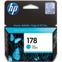 Cartouche d'encre authentique HP 178 / Cyan