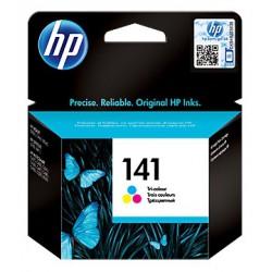 Cartouche d'encre authentique trois couleurs HP 141