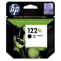 Cartouche d'encre authentique haute capacité HP 122XL / Noir