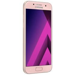 Téléphone Portable Samsung Galaxy A3 2017  / Double SIM / Bleu + Gratuité 20Dt + SIM Offertes