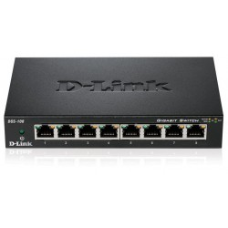 Switch Gigabit 8 ports 10/100/1000 Mbps D-Link DGS-108