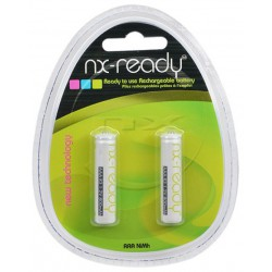 2x Piles Rechargeables Nx-Ready AAA