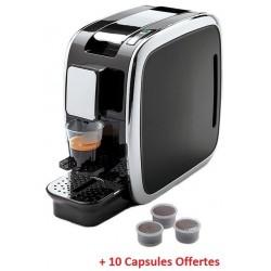 Machine à café à capsules Conti / Noir + 10 capsules