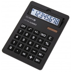 Calculatrice de bureau 8 chiffres Olympia LCD 908