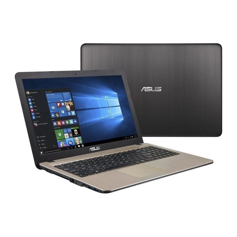 pc portable asus vivobook max x541uj i5 7 g n 8 go noir. Black Bedroom Furniture Sets. Home Design Ideas
