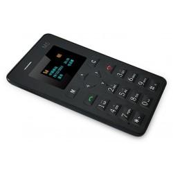 Mini Téléphone Ultra mince Clever M5 / Noir