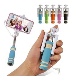 Perche télescopique Selfie Mini Monopod Extensible