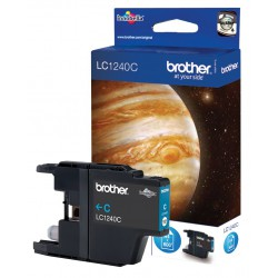 Cartouche Jet d'encre Originale Brother LC1240C / Cyan
