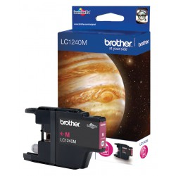 Cartouche Jet d'encre Originale Brother LC1240M / Magenta