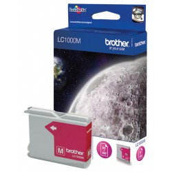 Cartouche Jet d'encre Originale Brother LC1000M / Magenta