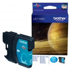 Cartouche Jet d'encre Originale Brother LC1100C / Cyan