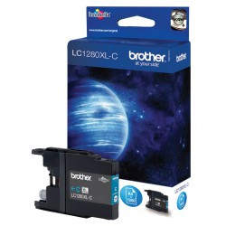 Cartouche Jet d'encre Originale Brother LC1280XLC / Cyan