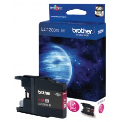 Cartouche Jet d'encre Originale Brother LC1280XLM / Magenta