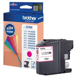 Cartouche Jet d'encre Originale Brother LC223M / Magenta
