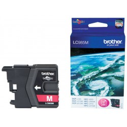 Cartouche Jet d'encre Originale Brother LC985M / Magenta
