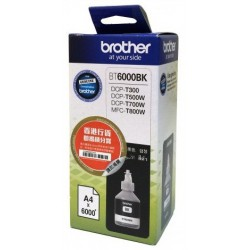 Bouteille d'encre Brother BT-6000BK / Noir