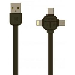 Câble Plat USB 3en1 Remax RC-066TH